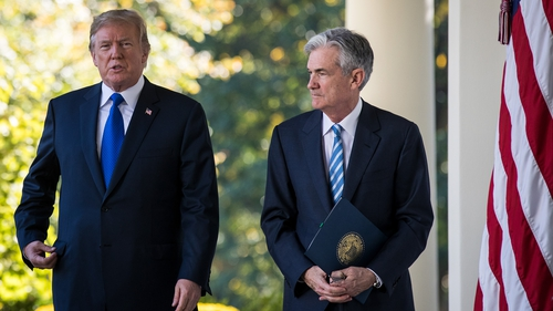 Donald Trump nominated Jerome Powell him for the top job at the US Federal Reserve in late 2017