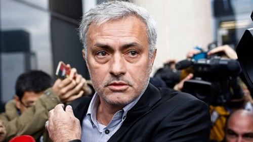 Joe Mourinho pictured outside court this morning