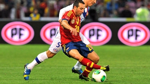 The injury stemmed from the Spain v Chile friendly in 2013