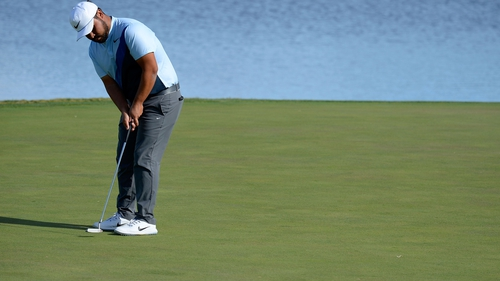 J.J. Spaun leads the field by three