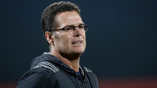 Rassie Erasmus was in charge at Munster from April 2016 to December 2017