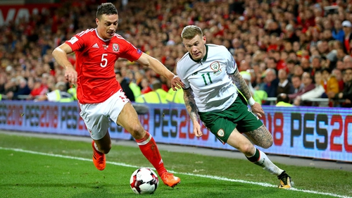 The Republic of Ireland and Wales will renew their rivalry in the Nations League next year