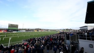 A view of the Down Royal Racecourse
