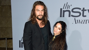 Jason Momoa and partner Lisa Bonet tie the knot