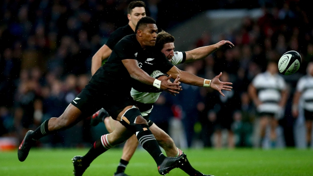 New Zealand Came Under Early Pressure And Their Line Ed Twice Inside The Opening 14 Minutes As First Richie Mo Unga Crossed Before An Intercept By