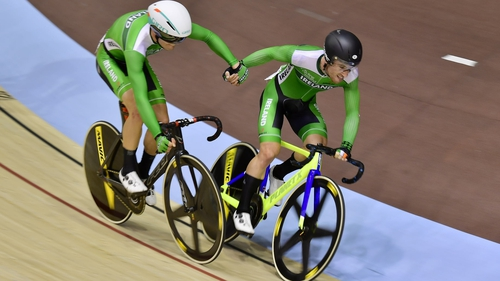 Felix English and Mark Downey in the Madison