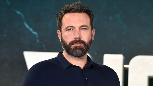 Ben Affleck can next be seen as the caped crusader in Justice League