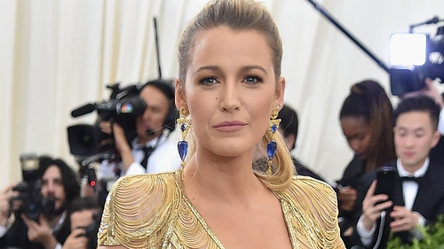 Blake Lively injured while shooting The Rhythm Section in Dublin
