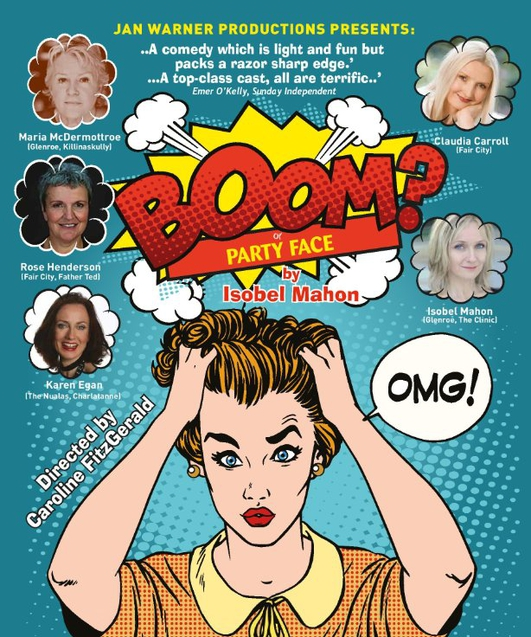 """Boom?"", a play by Isobel Mahon"