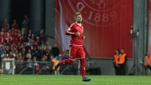 Nicklas Bendtner may just be in the best form of his career