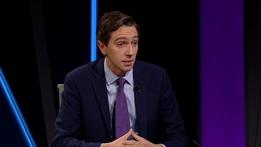 Minister Simon Harris | Claire Byrne Live