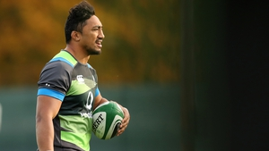 Uncapped Bundee Aki was named in Joe Schmidt's Ireland squad for the November internationals