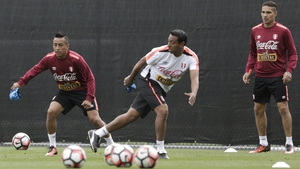 Nolberto Solano is coaching the Peru team on the verge of a first World Cup finals since 1982
