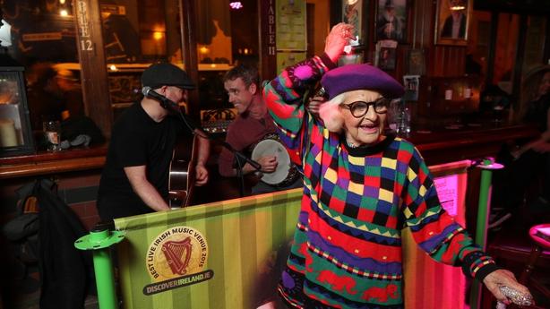 BADDIE WINKLE VISITS DUBLIN