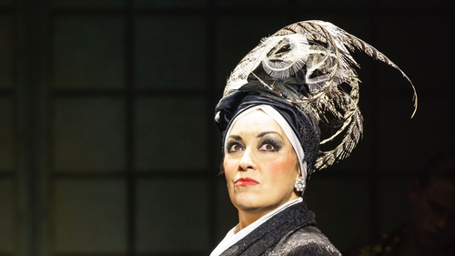 Ria Jones plays deluded diva of the silent screen, Norma Desmond, in Sunset Boulevard