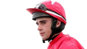 Conor Brassil suffered a suspected broken leg at Fairyhouse