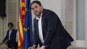 Oriol Junqueras along with two other Catalan MEPs had not taken their oath due to imprisonment