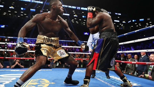 Deontay Wilder knocked out Bermane Stiverne in the first round last weekend.