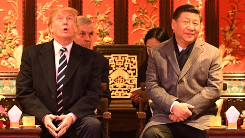 Donald Trump, who met Chinese President Xi Jinping earlier this year, said he was disappointed with China