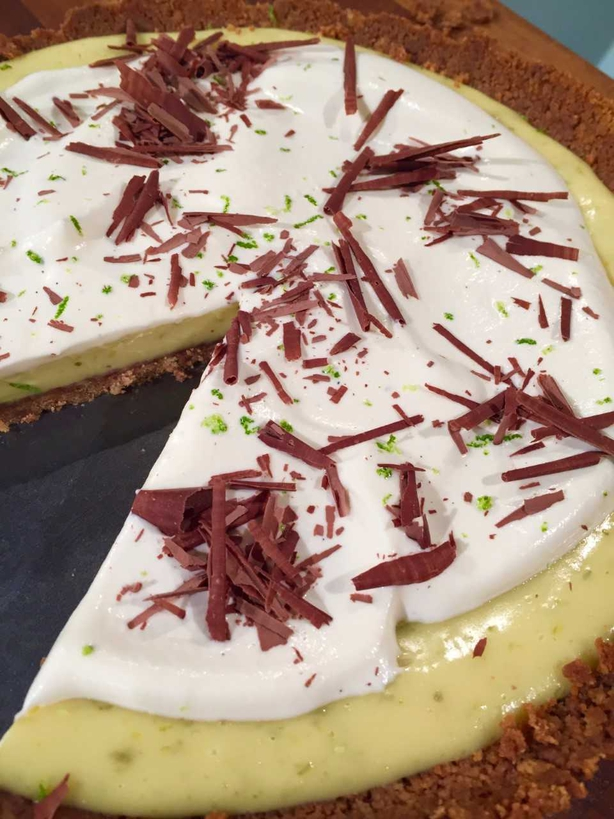 Simon Delaney's Key Lime Pie