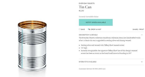 Tin Can Tiffanys