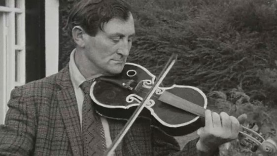 A Violin Made From Tin