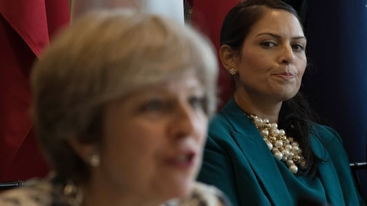UK Politics, Priti Patel's resignation