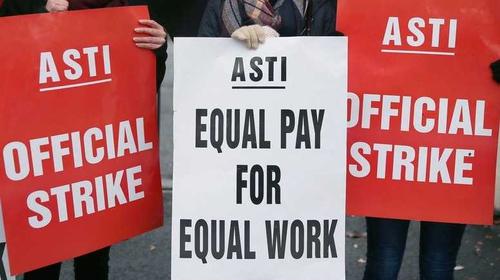 The leadership of ASTI is meeting in Athlone