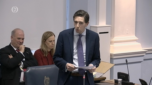 Minister Harris told the Seanad he wanted Alcohol less visible in shops