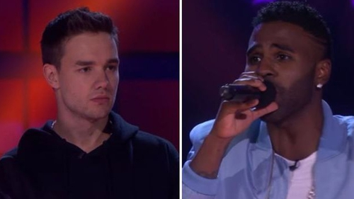 Liam Payne and Jason Derulo engaged in a brutal rap battle