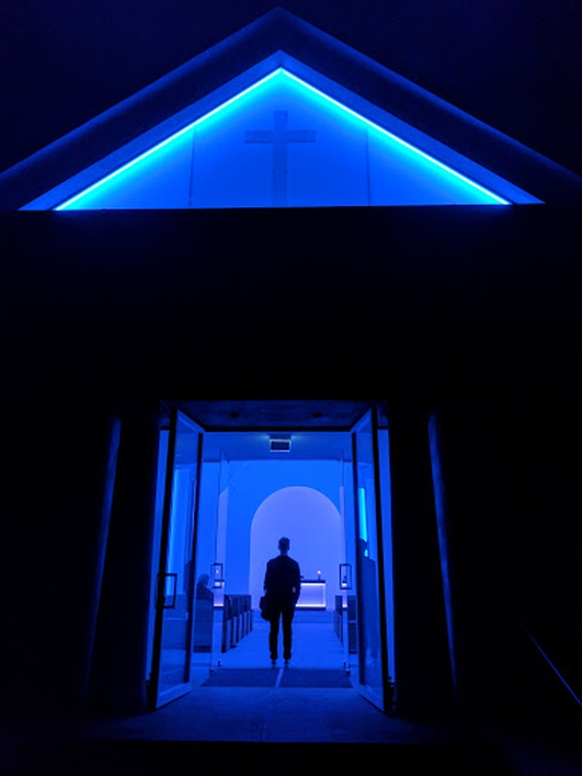 Culture File: James Turrell Lichtinstallation Dorotheenstädtischer Friedhof
