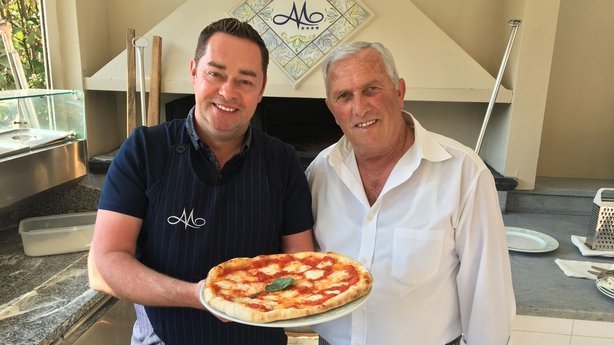 Neven Maguire learns to make the perfect pizza