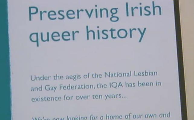 Preserving Irish Queer History - Irish Queer Archive Curator (2002)