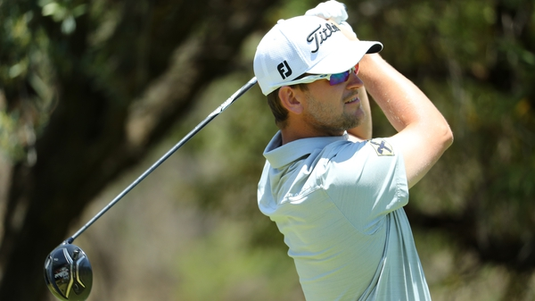 Bernd Wiesberger birdied the last to lead outright after day one
