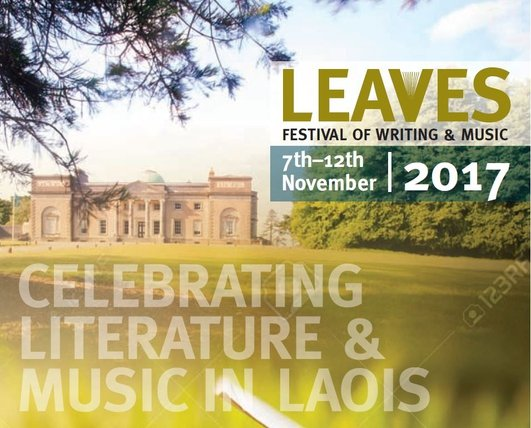 Martin Figura and Helen Ivory at the Leaves Festival of Writing & Music 2017