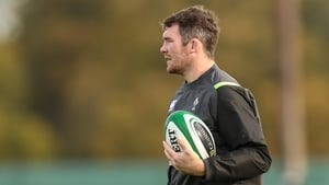 Peter O'Mahony will make his 41st international appearance against South Africa