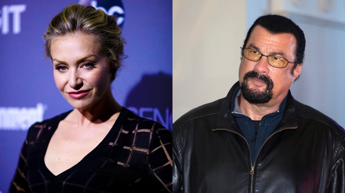 Portia de Rossi accuses Steven Seagal of sexual harassment
