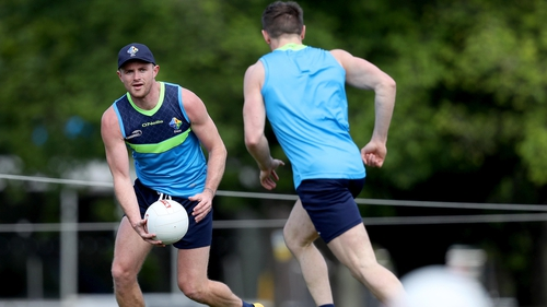 Pearce Hanley was one of three Irish players struck down with a stomach bug