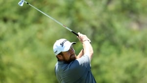 Lowry briefly topped the leaderboard during the second round at Nedbank Challenge before coming a cropper at the 14th hole