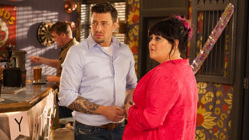 Tegan and Ryan get together on Hollyoaks