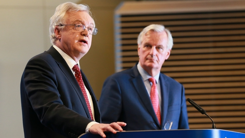David Davis called for flexibility and pragmatism in the talks