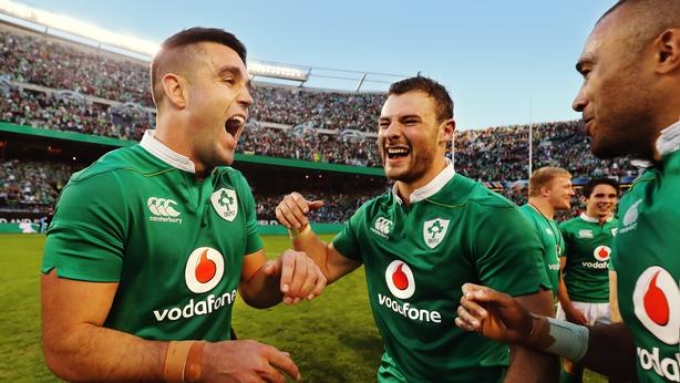 Ireland front row