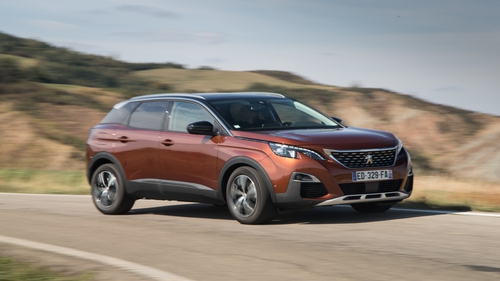 Peugeot's 3008 is Irish Car of the Year 2018.