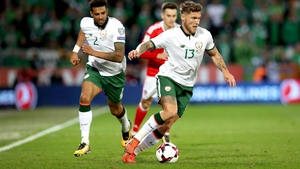 Jeff Hendrick looks set to start for Ireland against Denmark