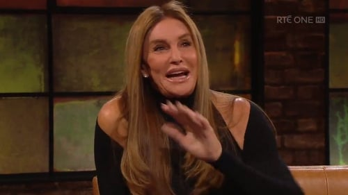 Caitlyn Jenner on Friday night's Late Late Show