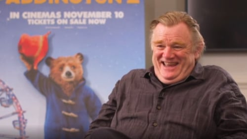 "Brendan Gleeson: ""There were a lot of takes and so we had to try and keep the energy up.."""