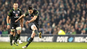 Jonathan Sexton impressed for Ireland