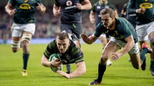 Ireland last faced South Africa in Dublin in 2017