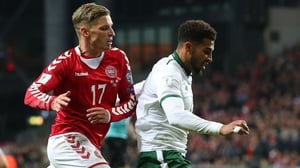 Cyrus Christie (R) was rock solid in Copenhagen