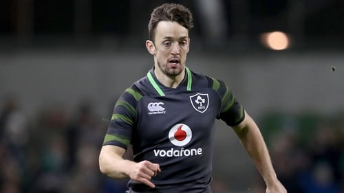 Darren Sweetnam made an impact on his Ireland debut